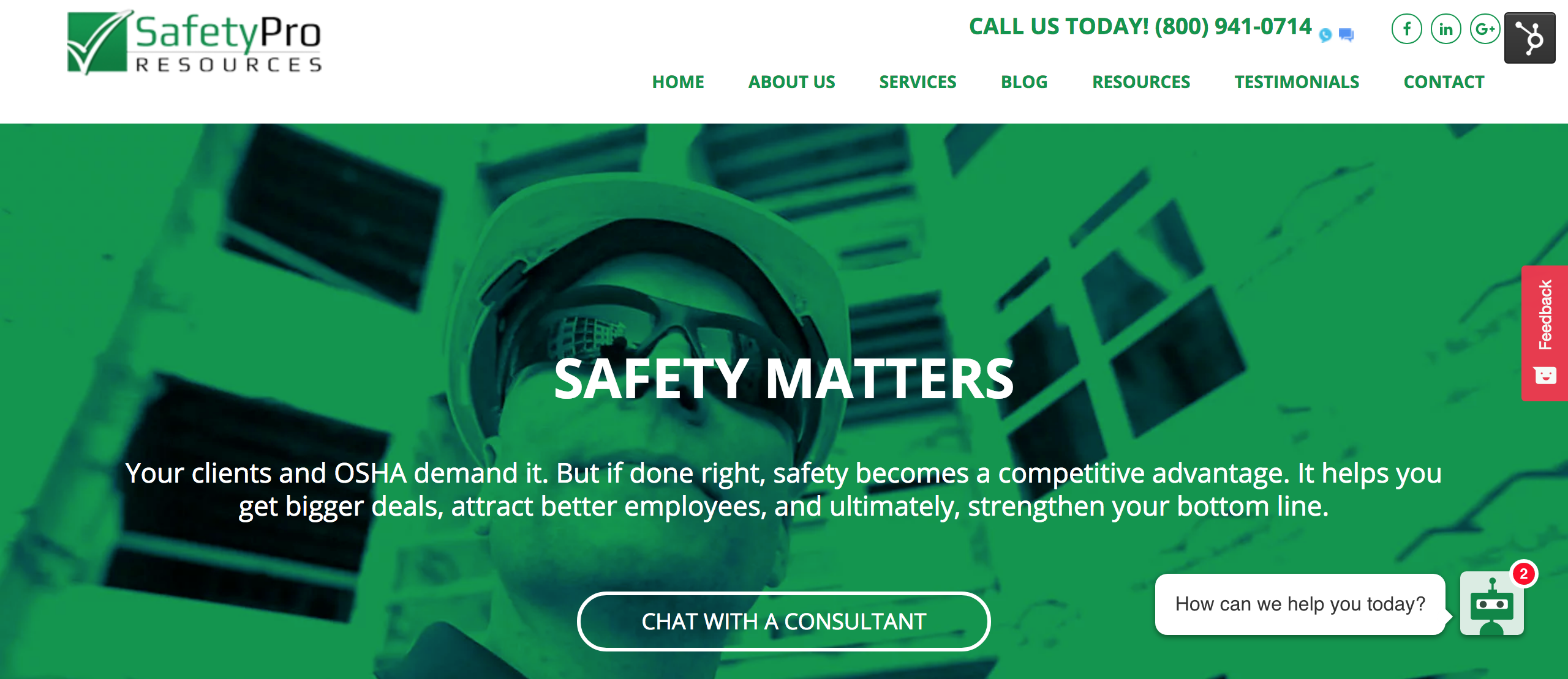 New Safety Pro home